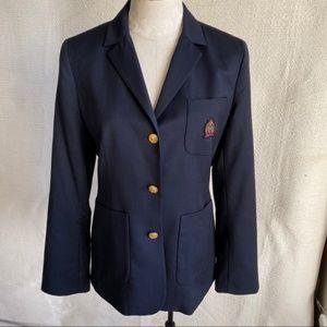 Vintage Tommy Hilfiger M All Wool Schoolboy Blazer